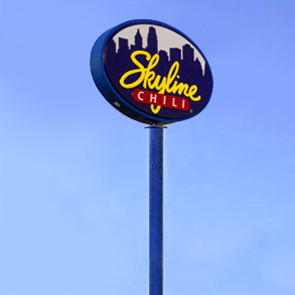 Skyline High Rise Sign