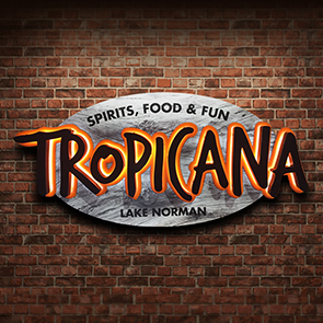 Tropicana Bar Wall Sign