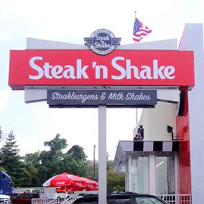 Steak 'n Shake Pylon