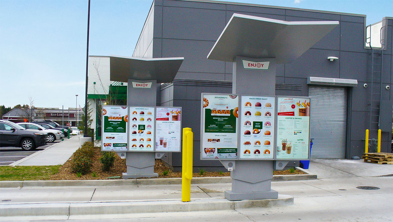 Revolution Digital Menu Boards from National Sign Systems in Columbus, Ohio